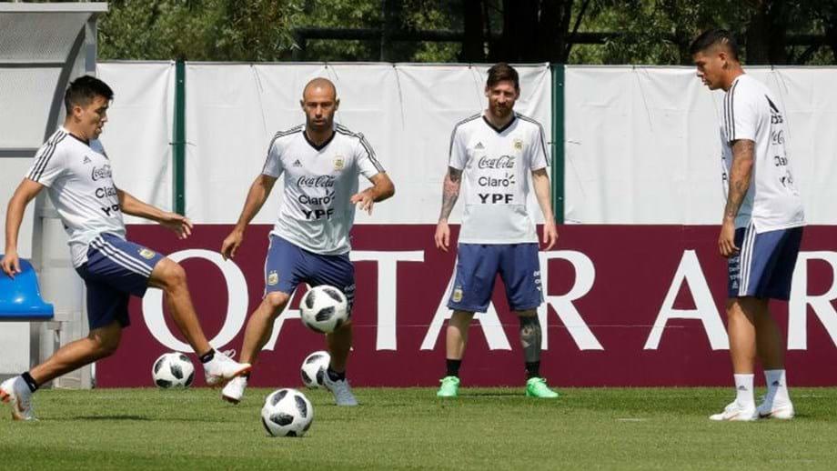 Há rumores de um motim na seleção da Argentina - Mundial