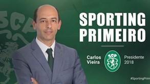 Carlos Vieira avança com candidatura à presidência do Sporting