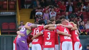 Bohemians FC-Sligo Rovers FC: Liga irlandesa não pára