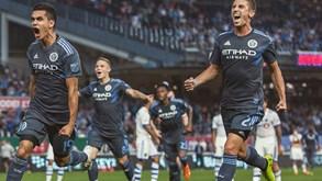 New York City-Columbus Crew: MLS não pára