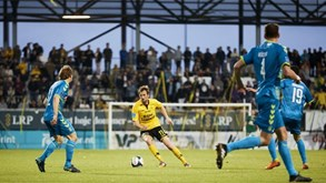 Sonderjyske-AC Horsens: Liga dinamarquesa em ação