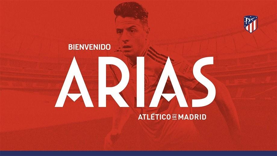 Oficial  Santiago Arias reforça Atlético Madrid - Espanha - Jornal ... 9f27a48a50f4e