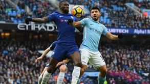 Chelsea-Manchester City: Em jogo a Community Shield