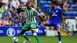 Betis-Levante: William Carvalho em estreia