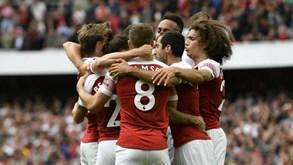 12e07cd06c Arsenal alcança primeira vitória na Premier League