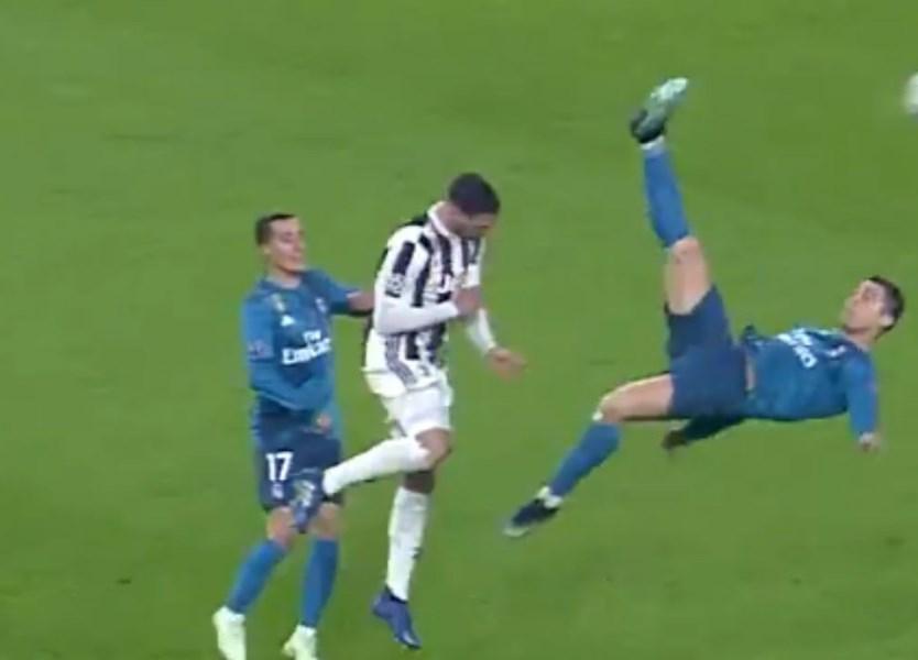 Pontapé de bicicleta de Ronaldo à Juventus é o melhor golo da época -  Vídeos - Jornal Record d1a1794c48845