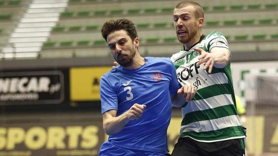 564d0a68bf Campeão Sporting recebe Belenenses na primeira jornada do campeonato de  futsal
