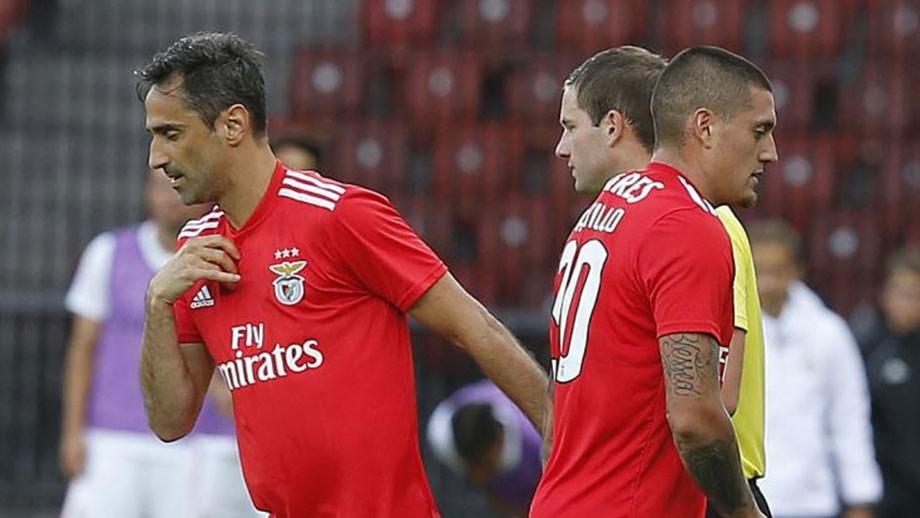 Castillo e Jonas fora da rota do dérbi - Benfica - Jornal Record 150b33ecf1502