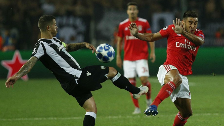 Internacional português do PAOK constata que o Benfica desta feita  aproveitou as oportunidades que criou 49b4dc39996a6