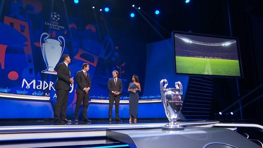 Sorteio concluído  todos os grupos da Liga dos Campeões - Liga dos ... 7c0b329f7f1d8