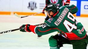 Ak Bars Kazan-Podolsk Vitaz: Batalha no gelo