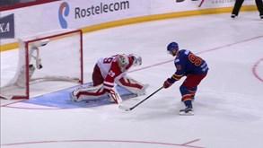 Podolsk Vityaz-Jokerit Hels.: Ação no gelo da KHL