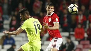 Benfica-Aves: Águia em busca da reação