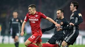 CSKA Moscovo-Spartak Moscovo: Dérbi moscovita para animar a tarde