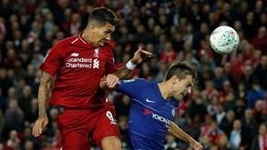 Chelsea-Liverpool: Confirmação ou vingança?