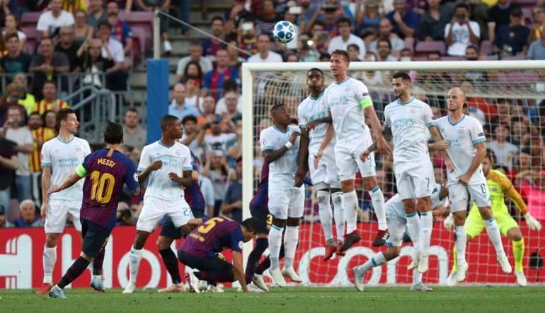 2a3786140d O Barcelona começou a Liga dos Campeões a todo o gás