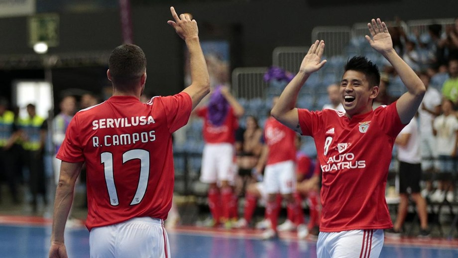 Benfica cilindra Fundão na Taça de Viseu - Futsal - Jornal Record 3fedb58d8cfab