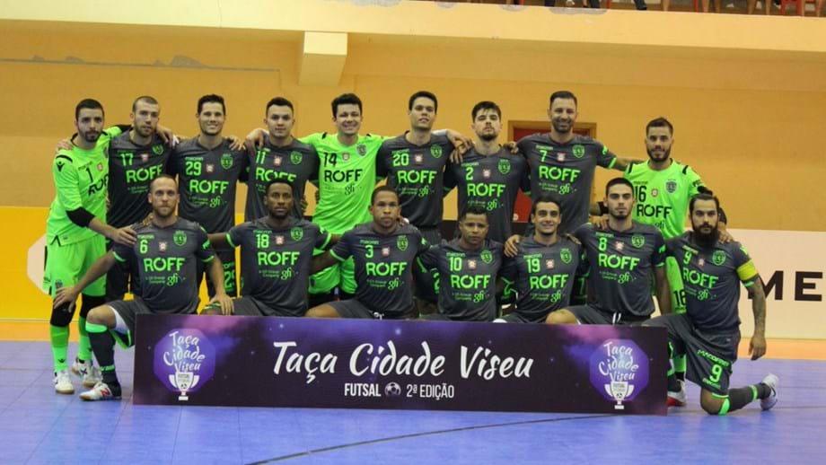 Taça Cidade de Viseu  Sporting vence Fundão por 9-3 - Futsal ... 97b2804940e39