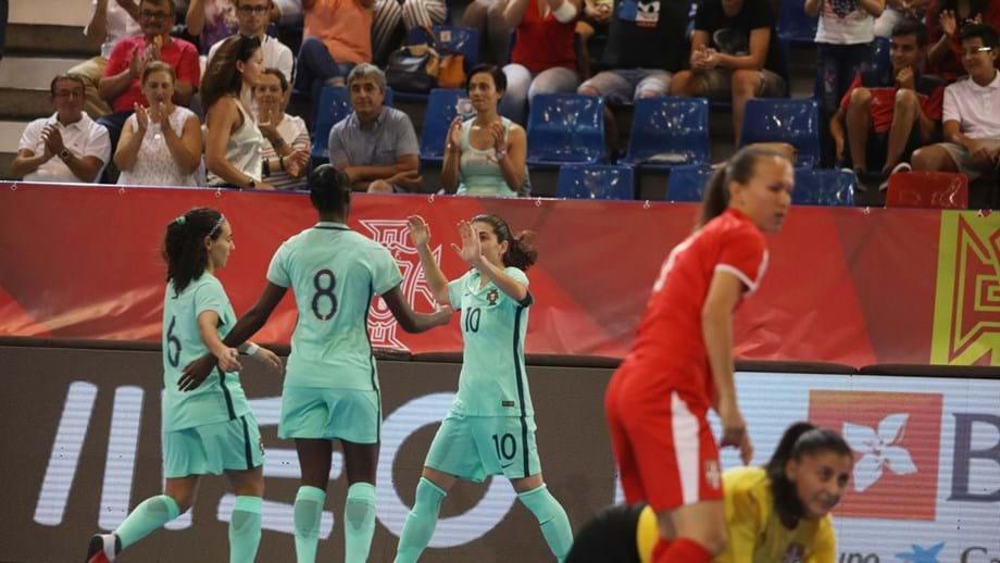 afd8fe5449 Portugal soma nova goleada a caminho do Europeu feminino - Futsal ...