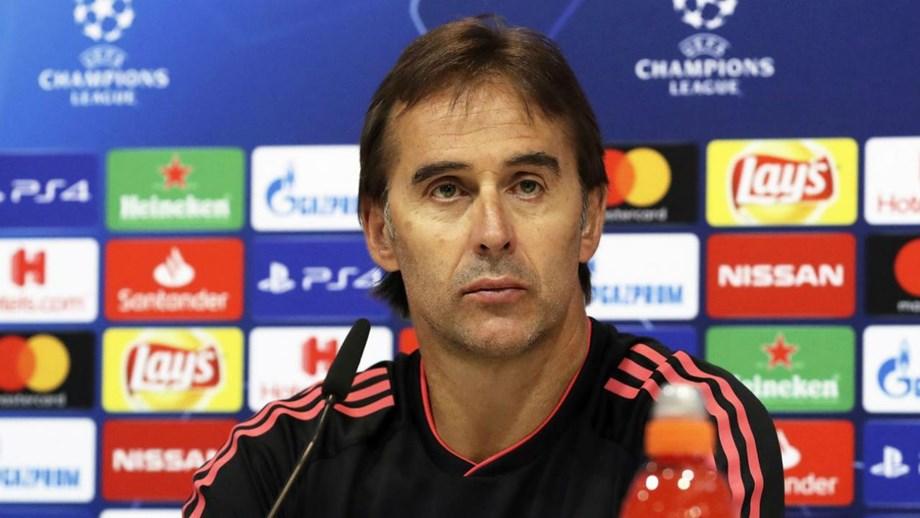 Treinador do Real Madrid diz que equipa está preparada para lutar por todos  os títulos d0d69a1a1bb99