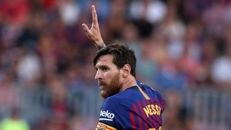 ... River Plate ter descartado Messi. Marcou 12 golos no treino e 566bfed81f07a