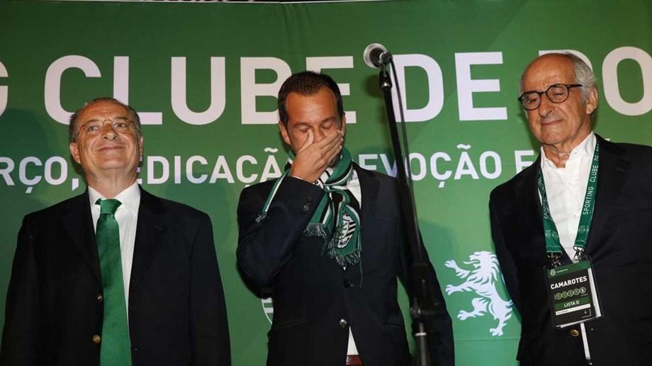 9dcdd30675f3 Frederico Varandas eleito presidente do Sporting  «É a missão mais  importante da minha vida»