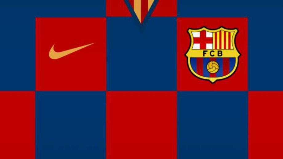 6355087417 Revolução na camisola do Barcelona de 2019 20  pela primeira vez será...  aos quadrados .