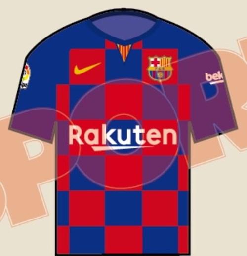 Camisa do barcelona 201920 nova (LEIA)