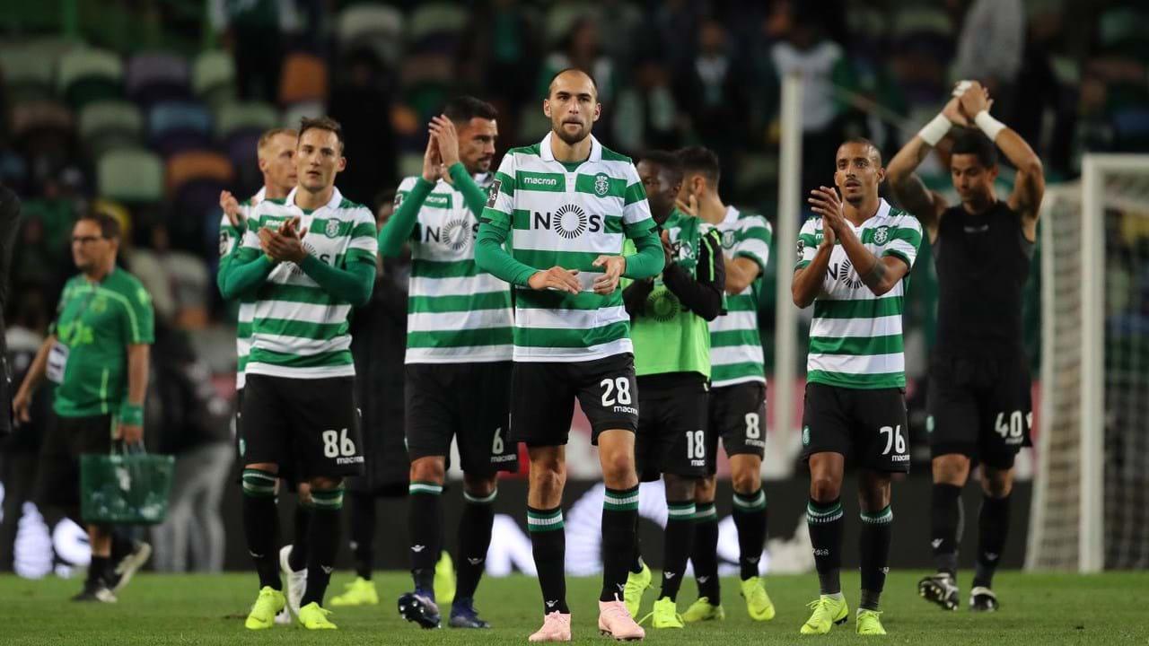 6. Sporting (Portugal): 58 jogadores)