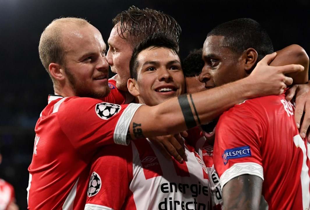 14. PSV Eindhoven (Holanda): 45 jogadores