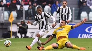 Udinese-Juventus: Tudo à espera do golo de Ronaldo