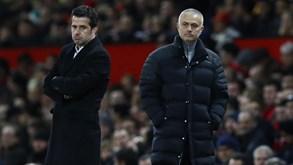 Manchester United-Everton: Duelo com sotaque português