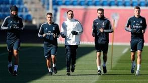 Real Madrid prepara jogo da Taça... e Lopetegui onde anda?