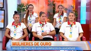 Seleção de futsal que venceu Jogos Olímpicos da Juventude conta tudo sobre a experiência
