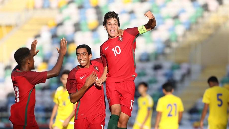Portugal aplica goleada das antigas frente ao Cazaquistão - Sub17 ... 5ee533b1c55a5