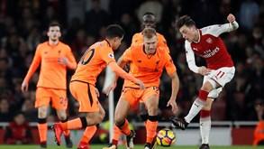 Arsenal-Liverpool: Um jogaço para animar a tarde