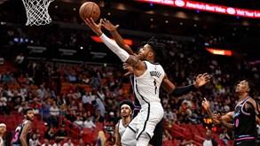 Brooklyn Nets-Minnesota Timberwolves: A NBA não pára