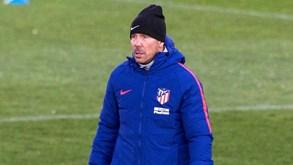 Simeone: «Barcelona tem sido a melhor equipa do Mundo»