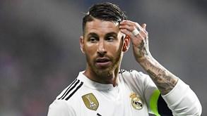 UEFA nega irregularidades no controlo antidoping de Sergio Ramos
