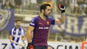 João Rodrigues, avançado do Barcelona: «Trabalhar muito para vencermos»