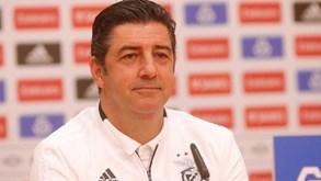 Rui Vitória: «Não foi por dinheiro que saí ou fiquei no Benfica»