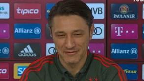 Kovac: «Questiono tudo o que faço»