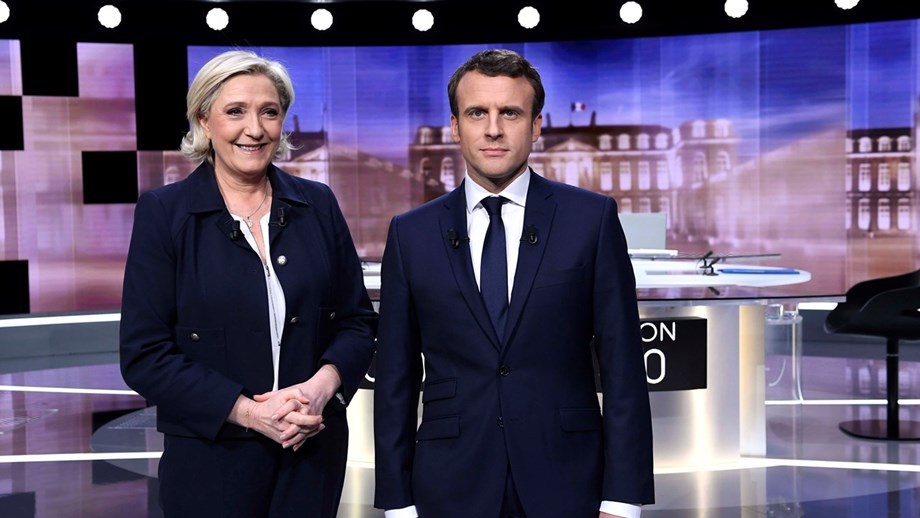Sondagem: Partido de Le Pen consegue mais votos que Macron para as europeias