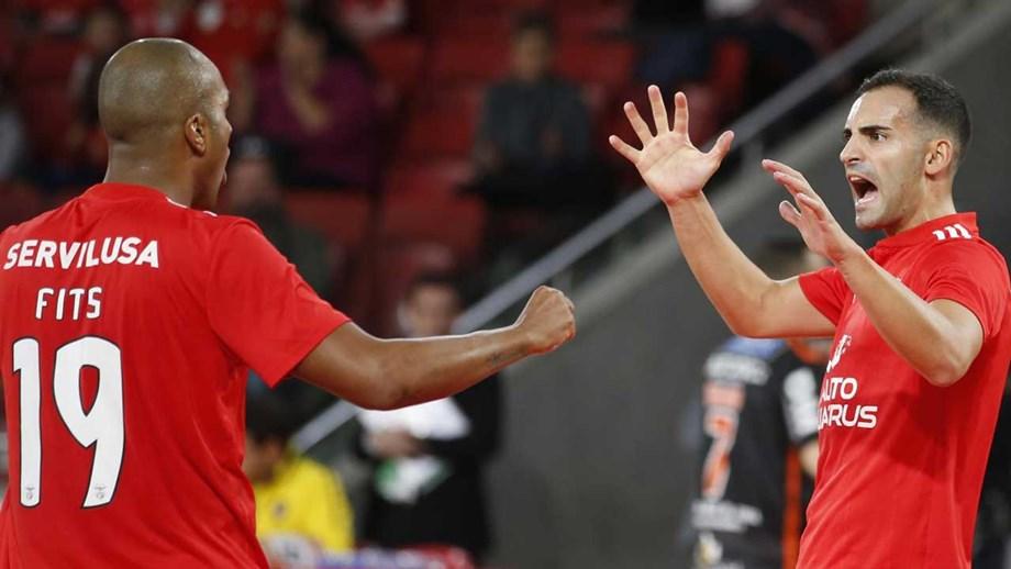 Benfica vence Modicus no jogo grande da jornada - Futsal - Jornal Record ef64ded59ef60