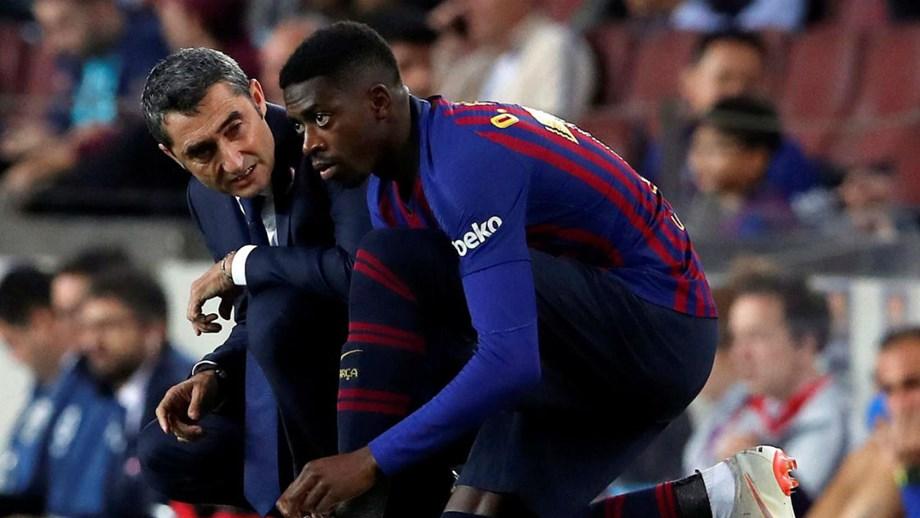 7d4e4d8896 Balneário do Barcelona cansado da atitude de Dembélé - Espanha ...