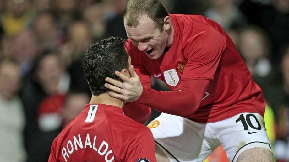 Ronaldo sobre Rooney  «Quem sabe um dia não voltamos a jogar juntos »  Internacional português elogia antigo companheiro do Manchester United em  documentário 2459779a68591