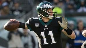 Philadelphia Eagles-Washington Redskins: Registos opostos