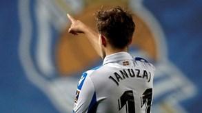 Real Sociedad-Valladolid: A dois pontos de distância