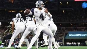 Dallas Cowboys-Philadelphia Eagles: As emoções da NFL