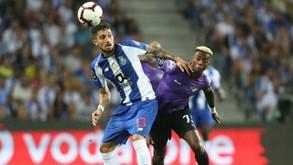 FC Porto-Moreirense: Segundo duelo esta época